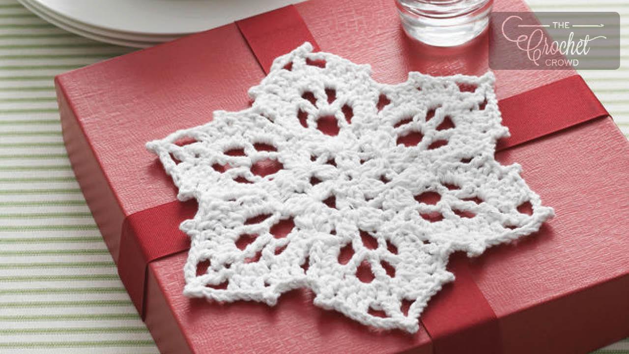 Crochet Snowflake Pattern Gallery From The Crochet Crowd