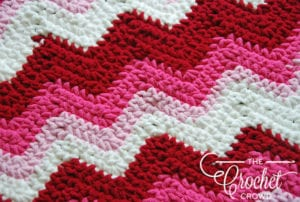 Striped Baby Blanket by Jeanne Steinhilber