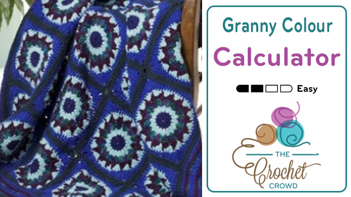 How to Calculate Granny Square Colours for Ball Counts