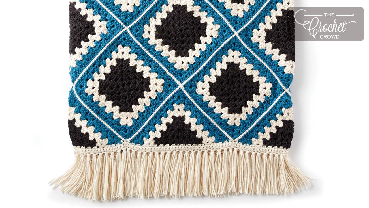 All Double Crochet Afghan | Kristine in between | 720x1280