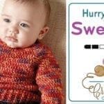 Crochet Hurry Down Baby Sweater