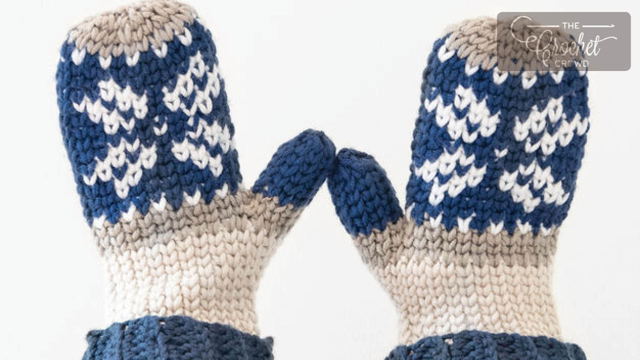 Crochet Mittens Projects