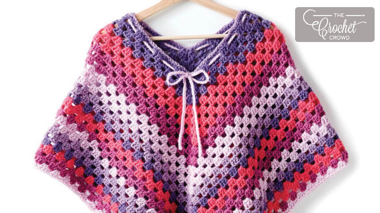 Ponchos Crochet Project Gallery The Crochet Crowd