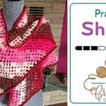 Crochet Caron Cakes Prayer Shawl + Tutorial
