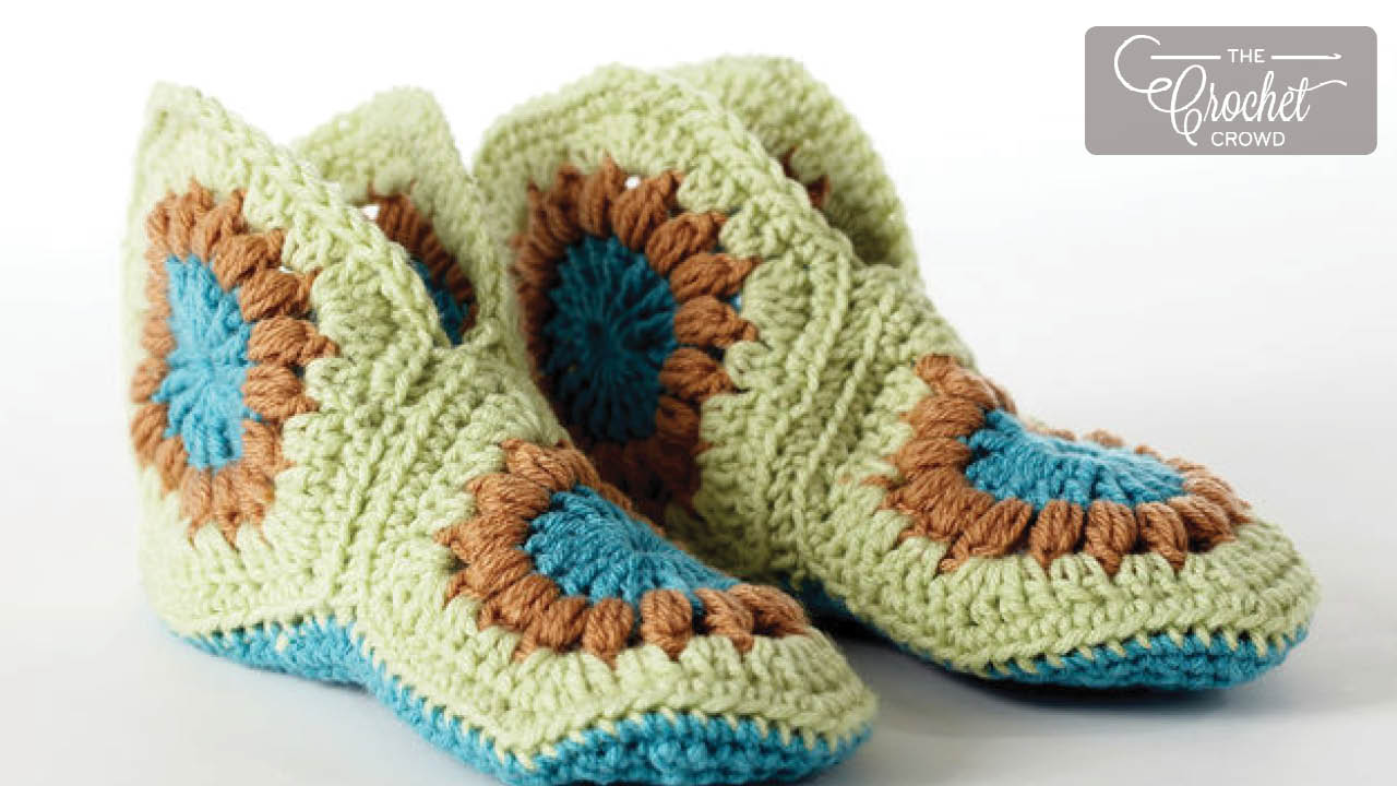 Slippers Free Crochet Patterns