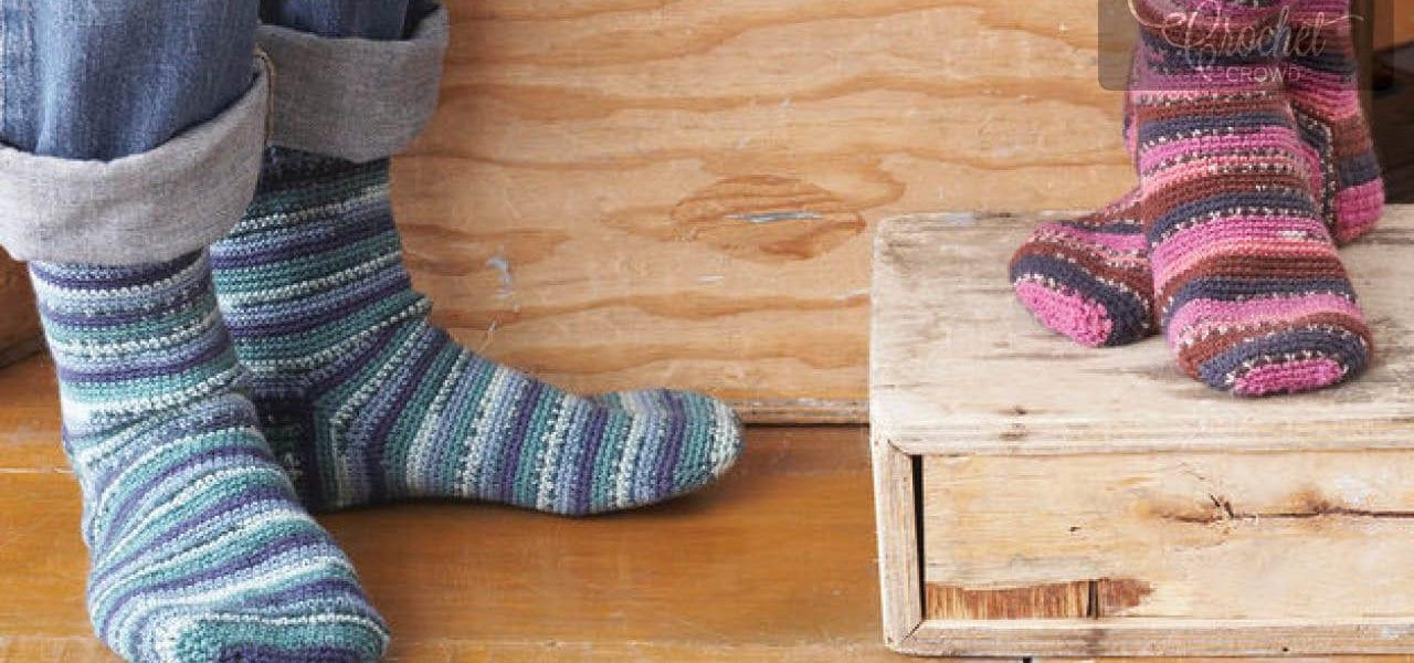 Crochet Socks Projects