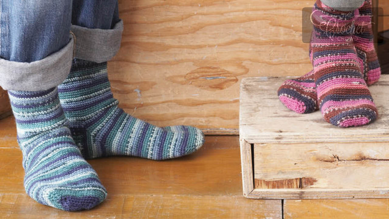 Socks Free Crochet Patterns