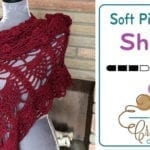 Crochet Simply Soft Pineapple Shawl + Tutorial