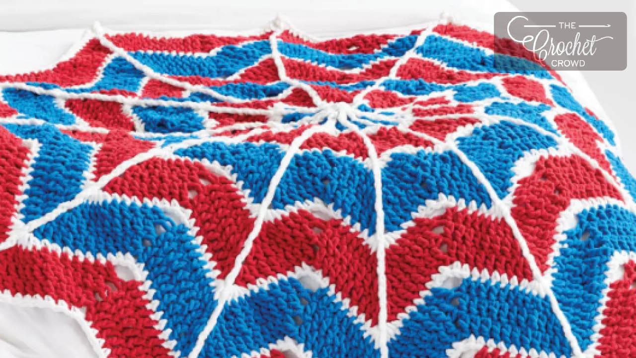Crochet Spider Blanket Project