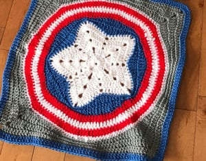 Crochet Star in Circle