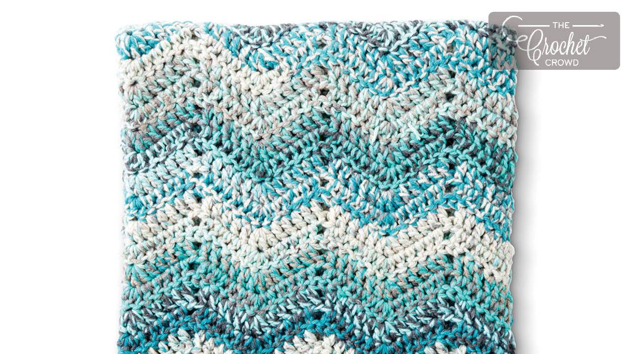 Wave Blanket Crochet Free Patterns