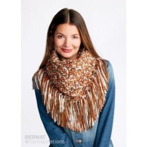 Crochet Fringy Crochet Cowl