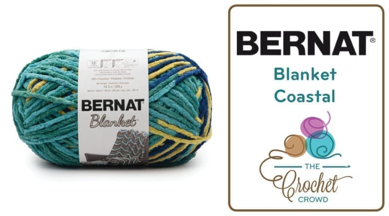 What To Do With Bernat Blanket Coastal Yarn | The Crochet Crowd