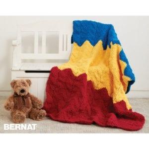Crochet 1-2-3 BlanketCrochet 1-2-3 Blanket