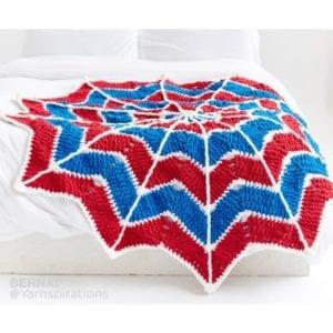 Crochet Spider Web Blanket