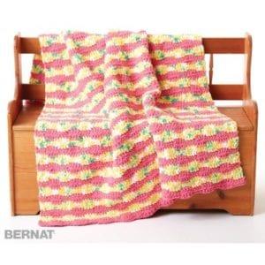 Crochet Summer Waves Blanket