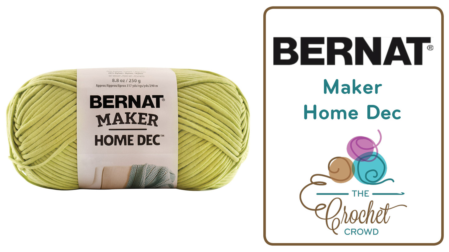 What To Do With Bernat Maker Home Dec Yarn The Crochet Crowd