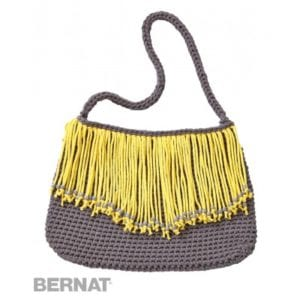 Crochet Fringe Benefits Purse