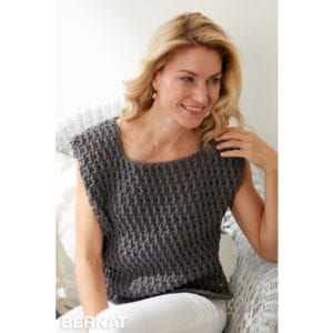 Crochet Long Dash Top