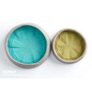 Crochet Colour Pop Bowls