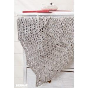 Crochet Ripples in Sand Blanket