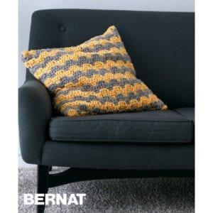 Crochet Step Up Pillow