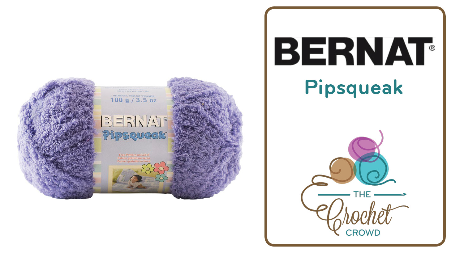 What To Do With Bernat Pipsqueak Yarn - The Crochet Crowd®