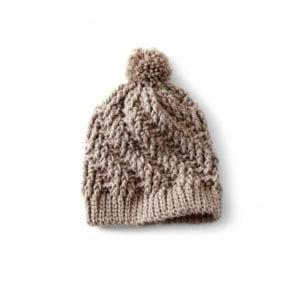 Crochet Stepping Texture Hat