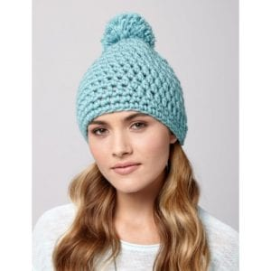 Crochet Quick Pom Pom Hat