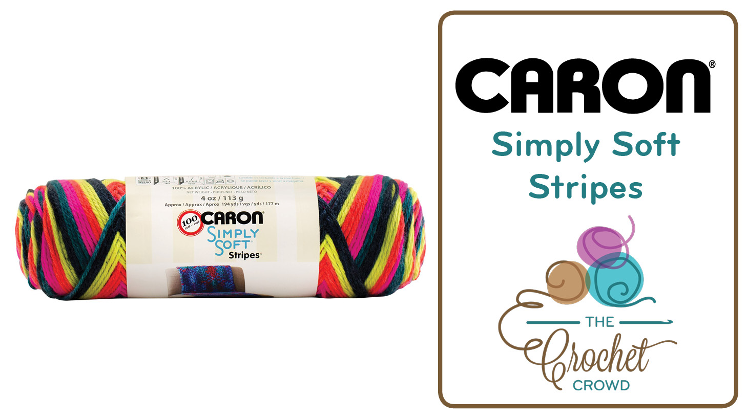 What To Do With Caron Simply Soft Stripes Yarn