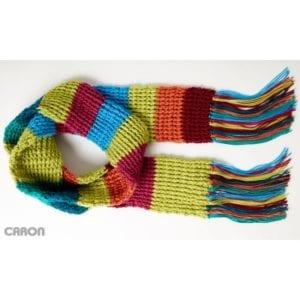 Crochet Rib Scarf