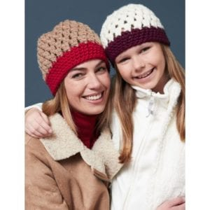 Crochet Cute as Clusters Hats