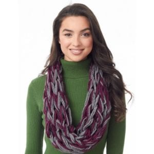 Tubular Arm Knit Cowl