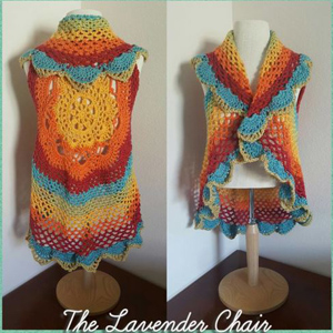 11 Starburst Mandala Circular Vest
