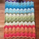 7 6-Day Kid Blanket crocheted by knittinghoneybee
