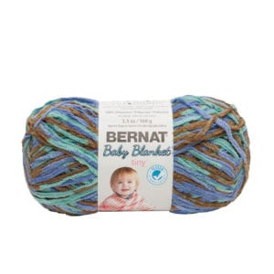 Bernat Blanket Tiny - Aqua Brown