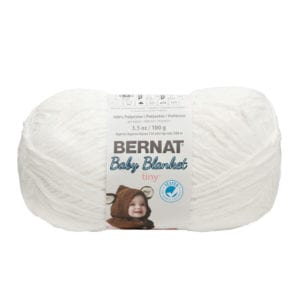 Bernat Blanket Tiny - Snow Cap