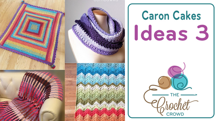 Crochet Caron Cakes Ideas 3