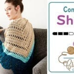 Crochet Comfort Shawl Pattern + Tutorial