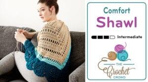 Crochet Comfort Shawl