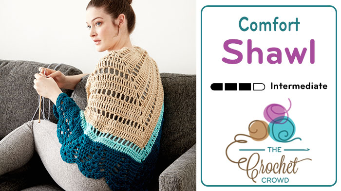 Crochet Comfort Shawl Pattern