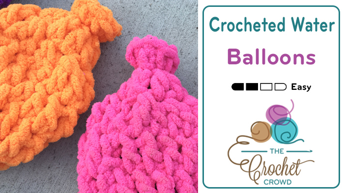 Crochet Pattern Water Balloon : Crocheted Water Balloons - The Crochet Crowd
