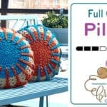 Full Circle Crochet Pillow