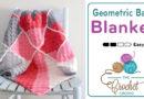 Crochet Geometric Baby Blanket + Tutorial