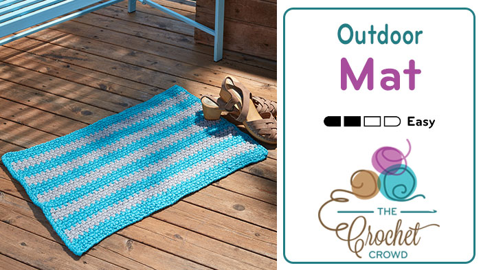 Crochet Outdoor Mat