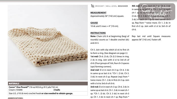 Read Crochet Patterns Tutorial