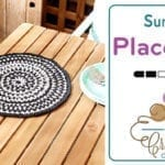 Sundial Crochet Placemat + Tutorial