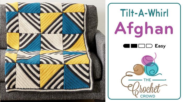 Crochet Tilt A Whirl Afghan