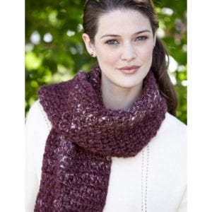 Crochet Corrugated Scarf
