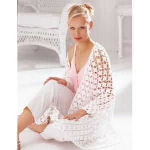 Crochet Floral Shawl